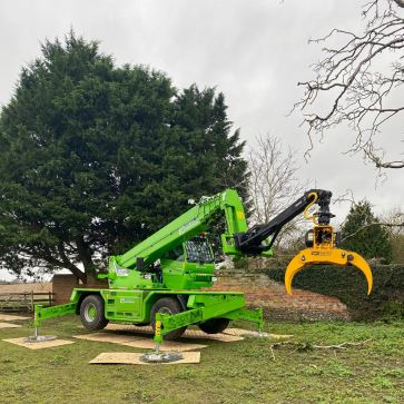 More and more GMT grapple saws in the UK